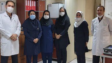 تصویر از دیدار اعضا هیات مدیره نظام پرستاری اسلامشهر با مترون بیمارستان امام رضا (ع)